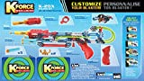 Construction Toys Age 8+ K'nex K Force K-20X Blaster Gun Build Your Own Children, Boys, Boy, Child, Kids - Christmas Stocking Filler Xmas Birthday Christmas Easter Reward or Treat Gift Present Idea
