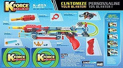 K Force K-20X Blaster - Boys Kids Boy Children Kids Child - Must Have Fun Team Game Kit Fun Birthday Present Gift Idea Toys & Games Age 8+