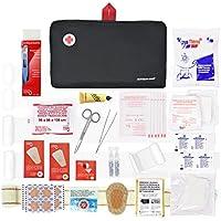 Erste-Hilfe-Set PRIME mit 120 artikel (digitalthermometer, antiseptische Lösung, physiologischen serums, sofort-kühlakku... preisvergleich bei billige-tabletten.eu