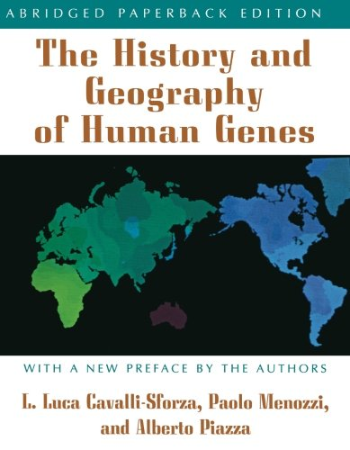 The History and Geography of Human Genes: (Abridged paperback edition) por Luigi Luca Cavalli-Sforza