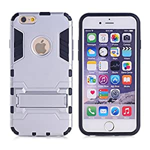iPhone SE Cover Dual Layer Technology Rugged Hybrid Armor Hard Kick Stand Case Apple iPhone SE cover