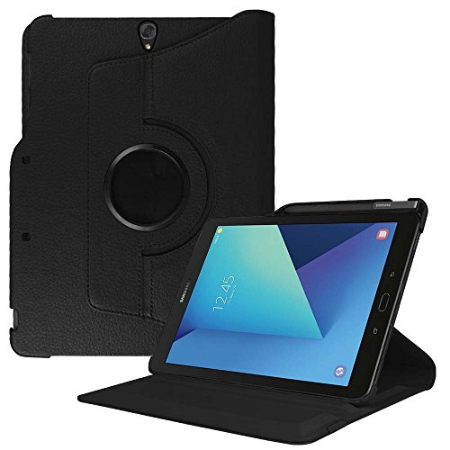 "Fintie Samsung Galaxy Tab S3 9.7 Housse - Slim-Fit Etui Coque Case Cover de Protection avec Auto Sleep / Wake Function et S Pen Holder pour Samsung Galaxy Tab S3 Tablette 9,7"" (24,6 cm), Noir"