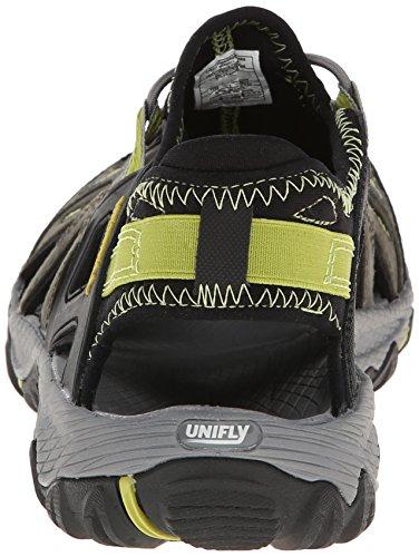 Merrell - All Out Blaze Sieve, scarpe da trekking  da uomo Multicolore (Mehrfarbig (CASTLE ROCK/GREEN OA))