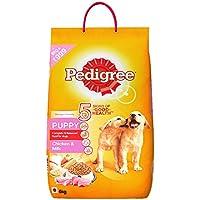 Pedigree Dry Dog Food, Chicken & Milk for Puppy - 6 kg Pack