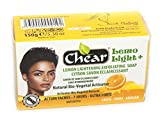 Lemo Light + Lemon Skin Lightening Whitening Brightening sapone esfoliante antisettico 150g–naturale con bio Vegetal attivatore