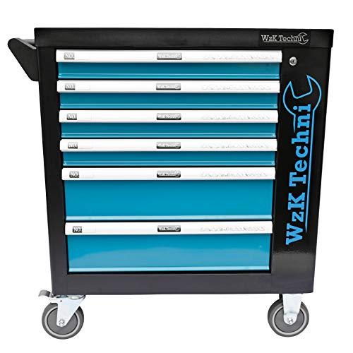 XXL Edition | Werkzeugwagen - Werkstattwagen - 6 Schubladen gefüllt mit Werkzeug | Bit Sets, Ratschen, Nüsse und vieles mehr... - 3