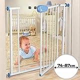 Barrière de Sécurité pour Bébé / Enfant | avec un double verrouillage, 74 à...