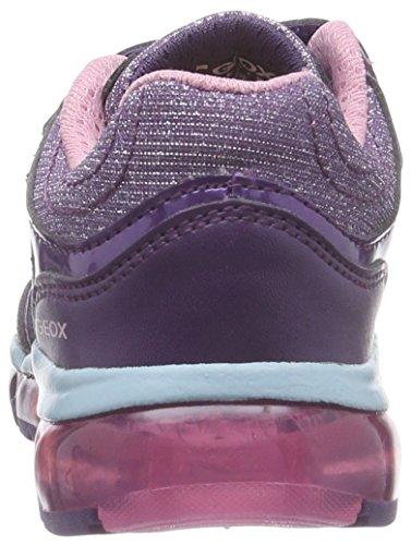 Geox J ANDROID B Mädchen Sneakers Violett (C8349VIOLET/WATERSEA)