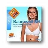 Nur Die - Soutien-gorge sans armature - Femme - Blanc (Weiß 030) - FR : 90B (Taille fabricant : 75B) - 2