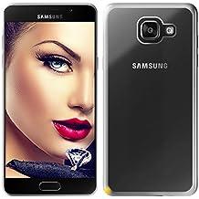 mtb more energy® Funda Style para Samsung Galaxy A5 2016 (SM-A510, 5.2'')   Plata   flexible   Gel TPU Silicona Carcasa Suave Cascara