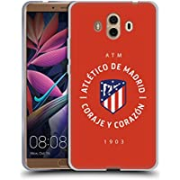 Official Atletico Madrid 1903 2017/18 Crest Soft Gel Case for Huawei Mate 10