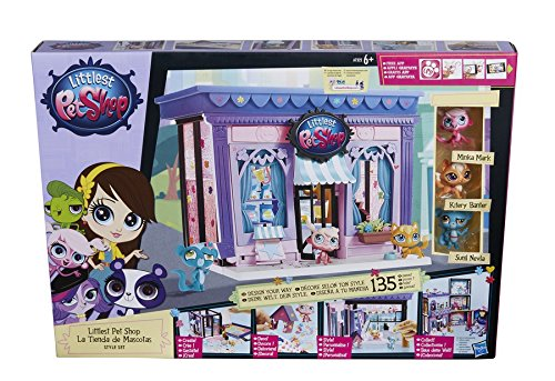 Hasbro A7322EU4 - Littlest Pet Shop Style - Shop-pet-sets Littlest Pet