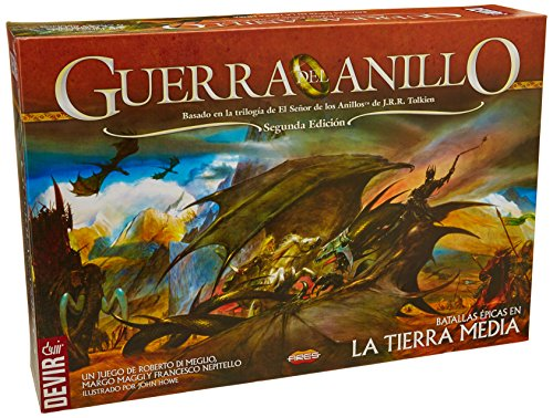 Devir - Guerra del Anillo, batallas épicas en la tierra media, juego de mesa (BGUERRA)