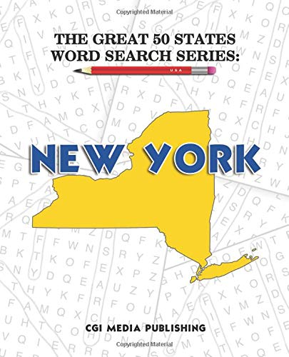 The Great 50 States Word Search Series: New York por CGI Media Publishing