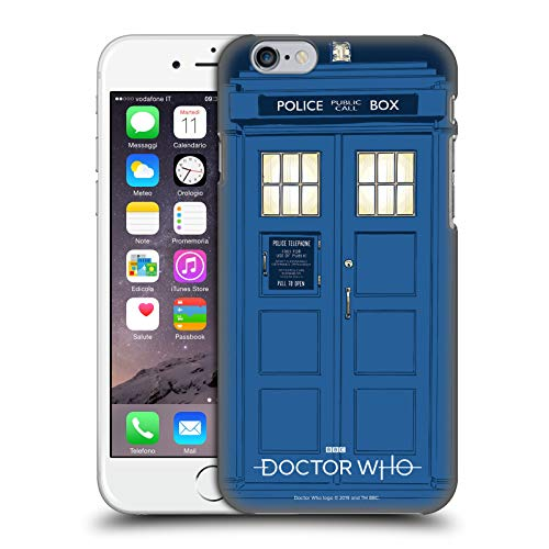 c74a5005b Official Doctor Who Tardis Season 11 Graphics Hard Back Case Compatible for iPhone  6 / iPhone