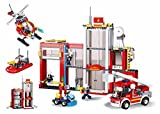 Sluban M38-B0631 Fire Station, Multi-Colors