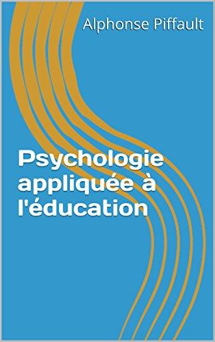 Psychologie appliquée à l'éducation