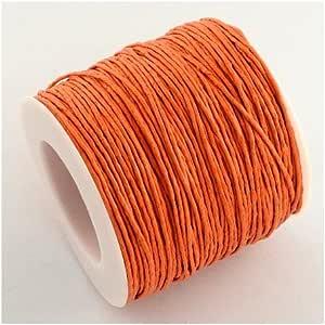 1 x Pêche Ciré Coton 5 M x 1 mm String cordon longueur continue Y06965