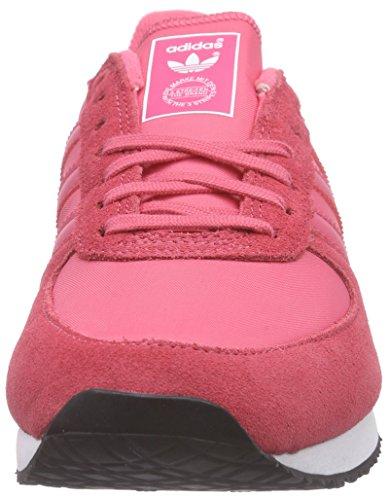 Adidas Originals ZX Racer - Scarpe da Ginnastica Basse Donna Pink (Lush Pink S16-St/Light Pink/Ftwr White)