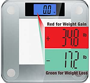 Ozeri Precision II Digital Bathroom Scale (200 kg / 440 lbs / 31 st) with Weight Change Detection Technology