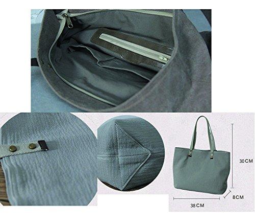 Leinentasche Einkaufstasche Umhängetasche Duffel Bag Reisetasche Mehrfarbig 09