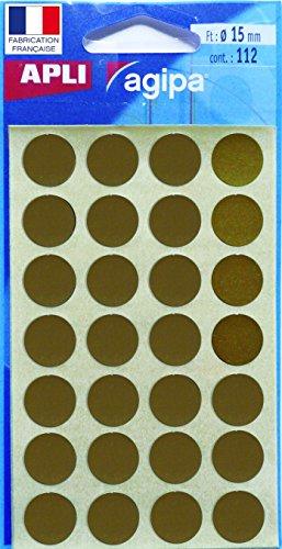 agipa-markierungspunkte-rund-selbstklebend-gold-ve1