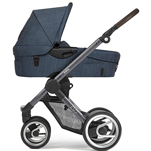 Mutsy Kinderwagen EVO - Farmer shadow / blue-grey - Modell 2017