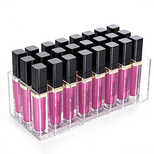 Mobengo Lippenstift-Halterung, durchsichtige Halterung aus Acryl für Lippenstift, zur Organisation...