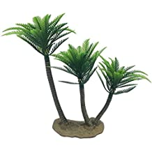 musykrafties Extra Grande 10.2-inch altura Selva Tropical Coco Palmera PALMAS Trío Coco Árbol Árboles