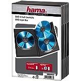 Hama 5er-Pack DVD-Tripel-Leerhüllen; schwarz; für je 3 DVDs + Booklet