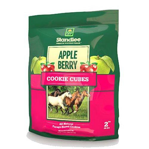 STANDLEE Heu Company Apple Berry Cookie Cubes behandelt, Größe 2
