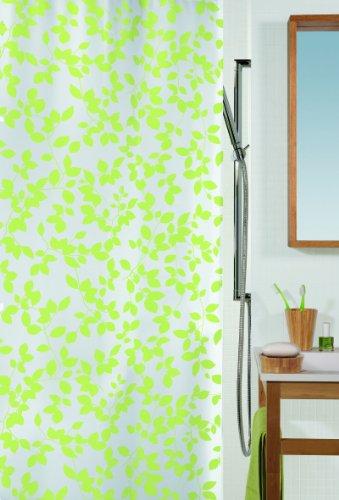 duschvorhang vinyl Spirella BLATT LIGHT GREEN 180X200 DUSCHVORHANG VINYL