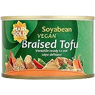 Marigold Soyabean Vegan Braised Tofu 225 g (Pack of 4)