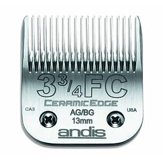 Andis CeramicEdge Carbon-Infused Steel Pet Clipper Blade 51ea0NTaWGL