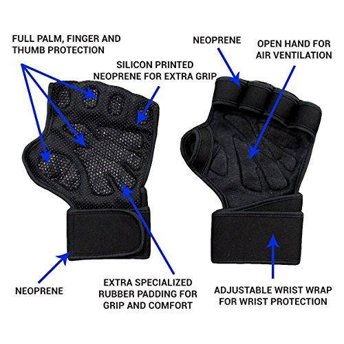 Zoom IMG-2 suprbird guanti per crossfit palestra