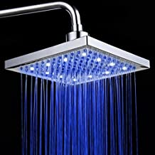 PowerLead SH001 Sensor de temperatura del baño 3 Cambio de color LED Cabezal de ducha 3 Cabezal de ducha de color LED Cambio de color