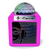 iDance CN-1 Pink Bluetooth Lautsprecher mit Lichtshow rosa