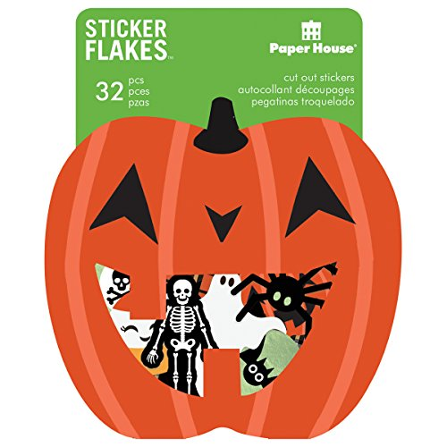 IONS Aufkleber, Flake, 3er Pack, Halloween (Paper Crafts Halloween-dekoration)