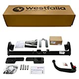 Abnehmbare Westfalia Anhängerkupplung für Sedici (BJ 04/06-12/14), SX4 (BJ 06/06-09/13), SX4 Classic (BJ 09/13-12/15) im Set mit 13-poligem fahrzeugspezifischen Westfalia Elektrosatz