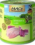 Mac's Hund Nassfutter Hühnchen & Lamm, 6er Pack (6 x 800 g)
