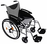 Z-Tec Lightweight Folding Aluminium Self Propelled Wheelchair by Z-Tec