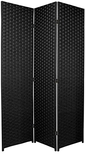 entwine-sq-black-colour-handmade-3-pane-panel-room-divider-folding-screens
