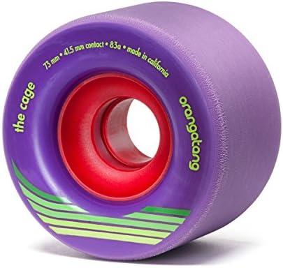 Orangatang Cage 73 mm 83a 83a 83a Freeride Longboard Skateboard Wheels (viola, Set of 4) B074XK24XX Parent | Prezzo Pazzesco  | Modalità moderna  | Good Design  | Affidabile Reputazione  | vendita di liquidazione  | Prezzo basso  2c5eba