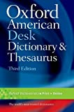Oxford American Desk Dictionary & Thesaurus - Best Reviews Guide