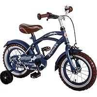 """14""""Vélo Vélo pour enfant avec roues arrières Bike Blue Cruiser Mat Qualité Bleu 51401"""