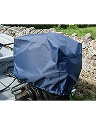 Motor fuera borda (impermeable y con ventilación Tamaño 7(150–300HP) Motor de color azul marino funda