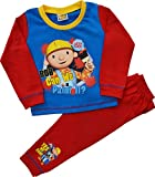 Boys Bob The Builder Pyjamas Sizes 12 Months to 4 Years
