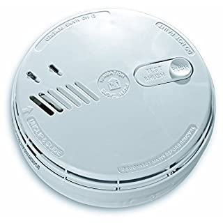 3X Aico EI141RC Mains Ionisation Smoke Alarm with 9V Battery Back-up