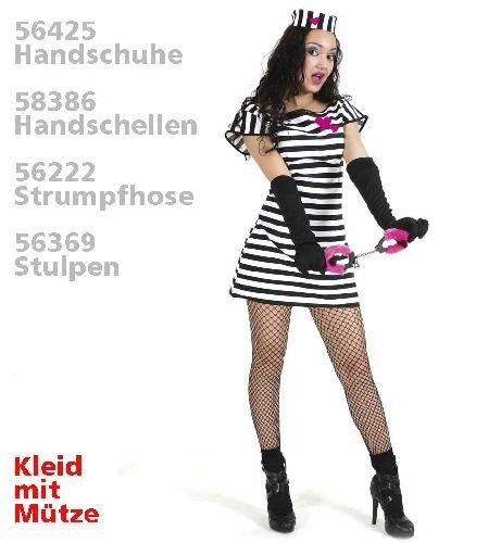 Sträfling Sweet Stripe (Polizei Kostüme Teen)