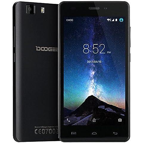 Smartphone Ohne Vertrag, DOOGEE X5 3G Smartphone Dual SIM, 5 Zoll HD Display - 1GB RAM + 8GB ROM, Android 5.1 Handy Ohne Vertrag, 5.0MP Kamera - (Sim Ohne Vertrag)